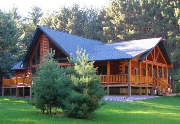 desain rumah kayu sederhana dan modern contoh disain