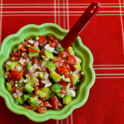 Lisa's Cross-Cultural Salsa With Tomato, Avocado, Lime ...