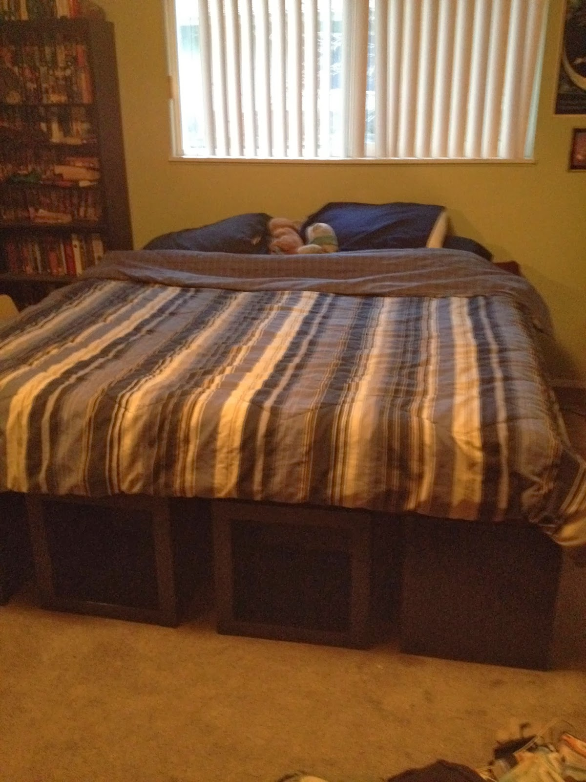 Tansy Dolls IKEA Hack King Size Bed