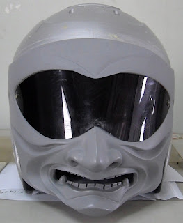DOT Skull Head Motorcycle Helmet