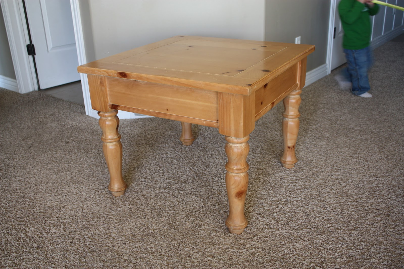 Country girl home small table bench legs add on for Short table legs