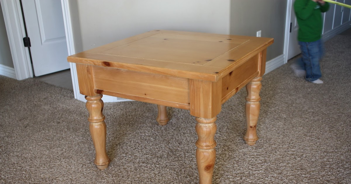 Small table/bench legs add on.