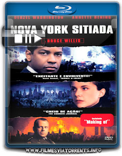 Nova York Sitiada Torrent - BluRay Rip 720p Dual Áudio