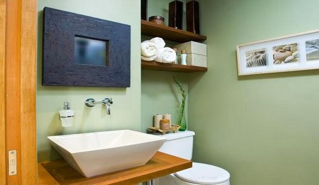 PUNTO SANITARIO: Trucos para agrandar un baño pequeño.