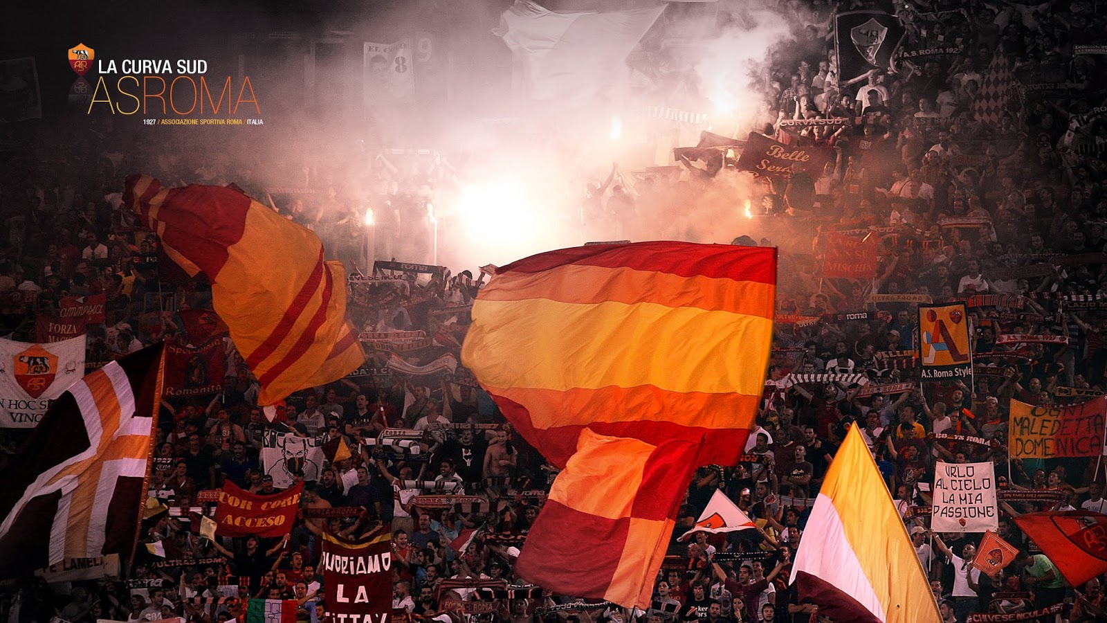 As roma football club wallpaper football wallpaper hd - Foto wallpaper ...