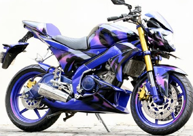 400+ Gambar Modifikasi Motor Yamaha Vixion 9 Out Of 10 Based On 10  title=
