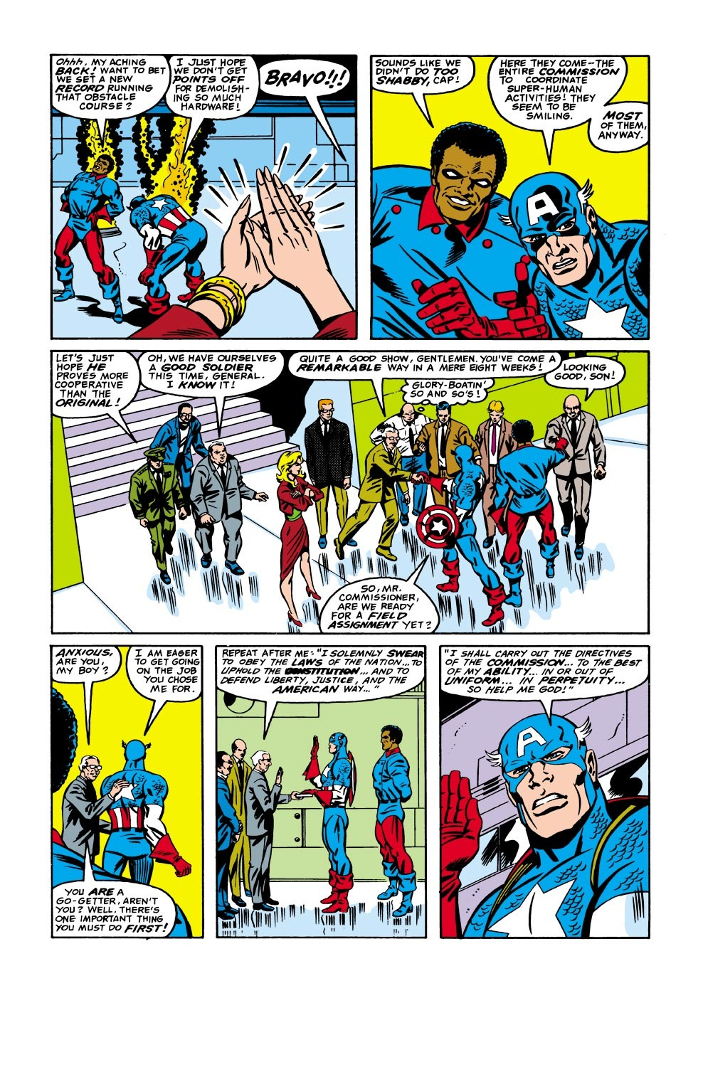 Captain America (1968) Issue #335 #264 - English 5