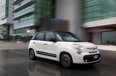 Fiat 500L: candidata ad Auto dell'Anno 2013