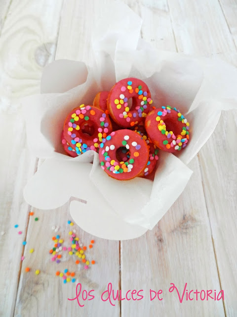 mini donuts princesas