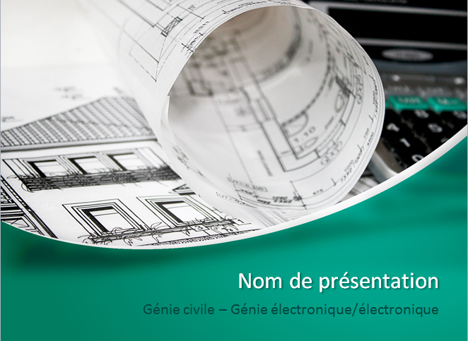ppt  exemple de pr u00e9sentation powerpoint  genie civil