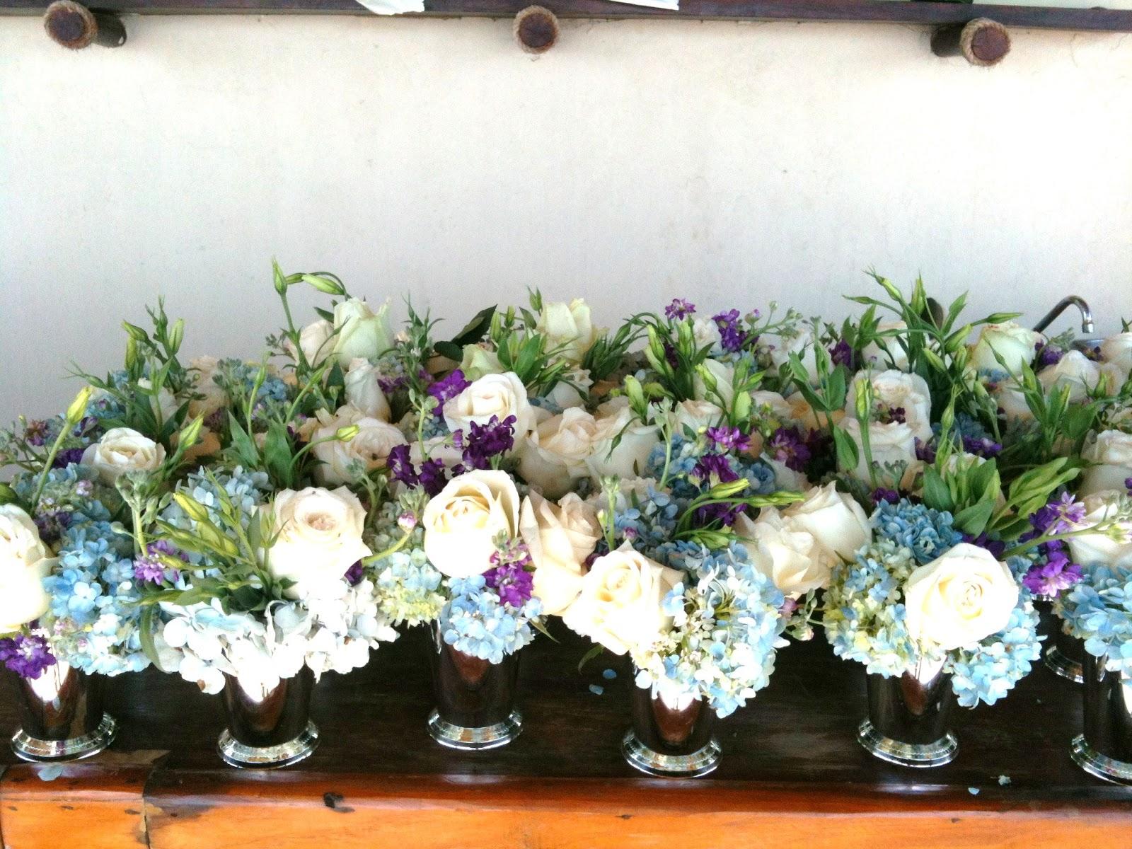 Detener y comprar flores de la boda