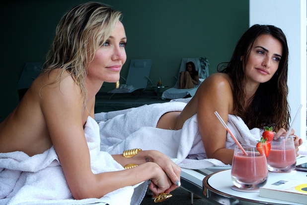 Penelope Cruz and Cameron Diaz Topless Pics in The Counselor Movie indianudesi.com