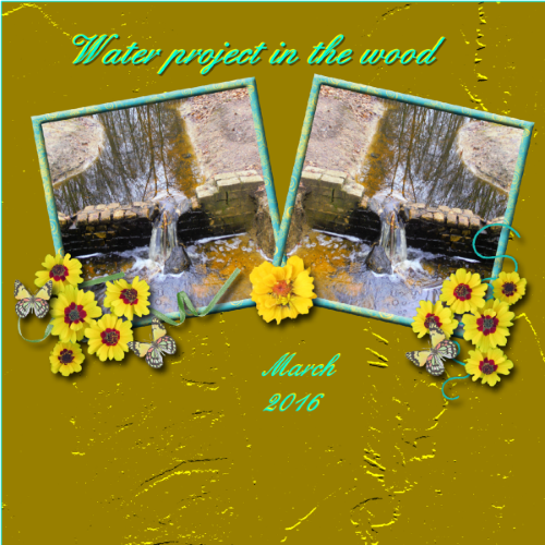 March 2016 - Water project