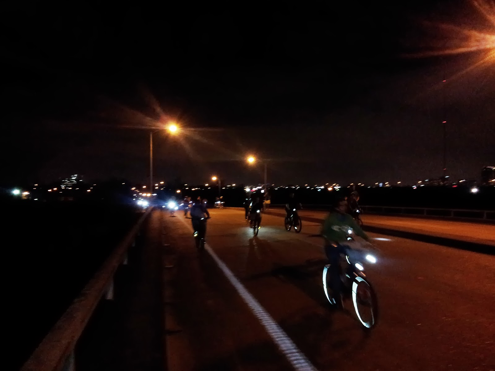Critical Mass Bike Ride In Houston
