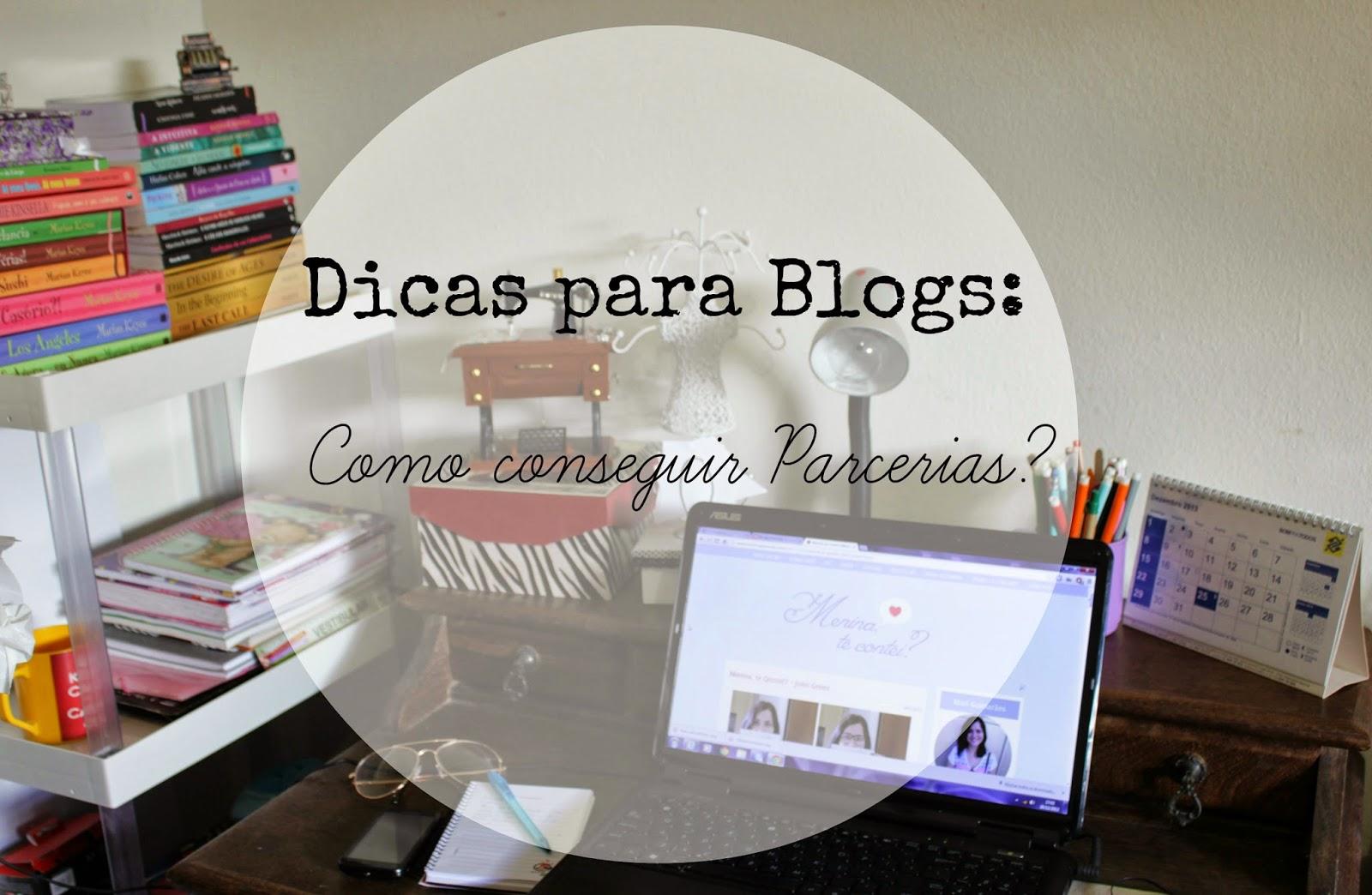 como conseguir parcerias para meu blog