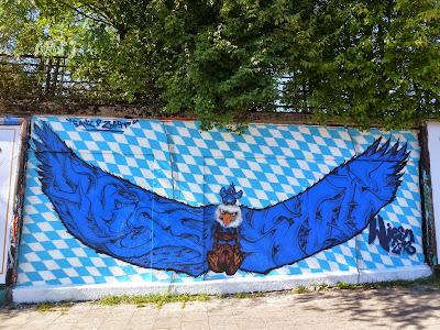 Streetart, Graffiti, Tumblingerstraße