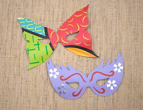 Como hacer una mascara de papel - Como hacer una mascara ...