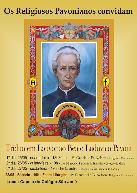 Tríduo do Beato Pavoni