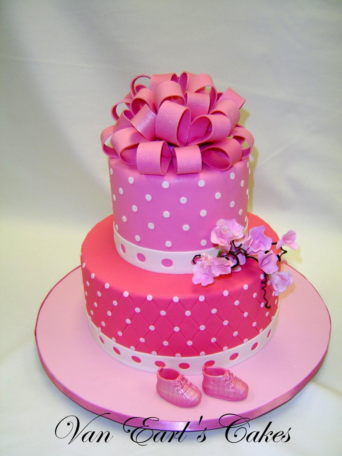 van earl 39 s cakes pink baby shower cake