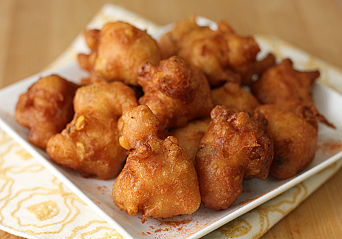 The Galley Gourmet: Beer Battered Corn Fritters