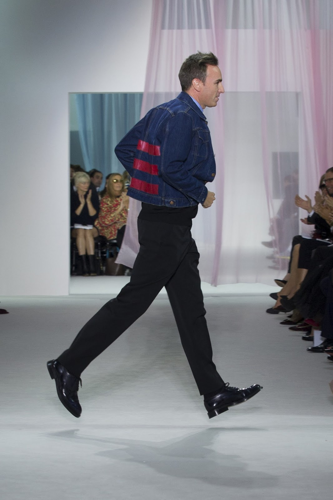 00O00 London Menswear Blog Raf Simons Dior Spring Summer 2013 in Helmut Lang
