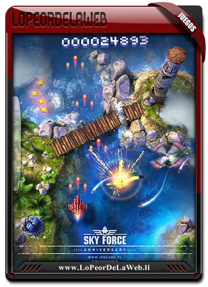 Sky Force Anniversary Multilenguaje (Español)