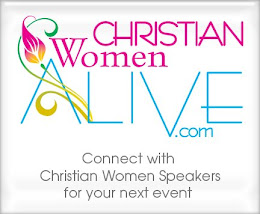 I am a speaker for Christian Women Alive