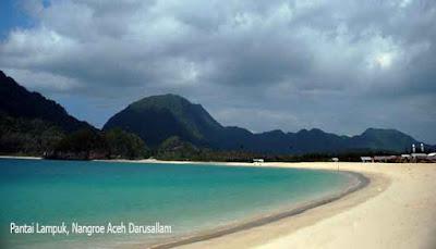 Pantai Lampuuk, Nangroe Aceh Darusallam
