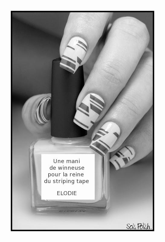Striping Tape Picture Polish Nail Art