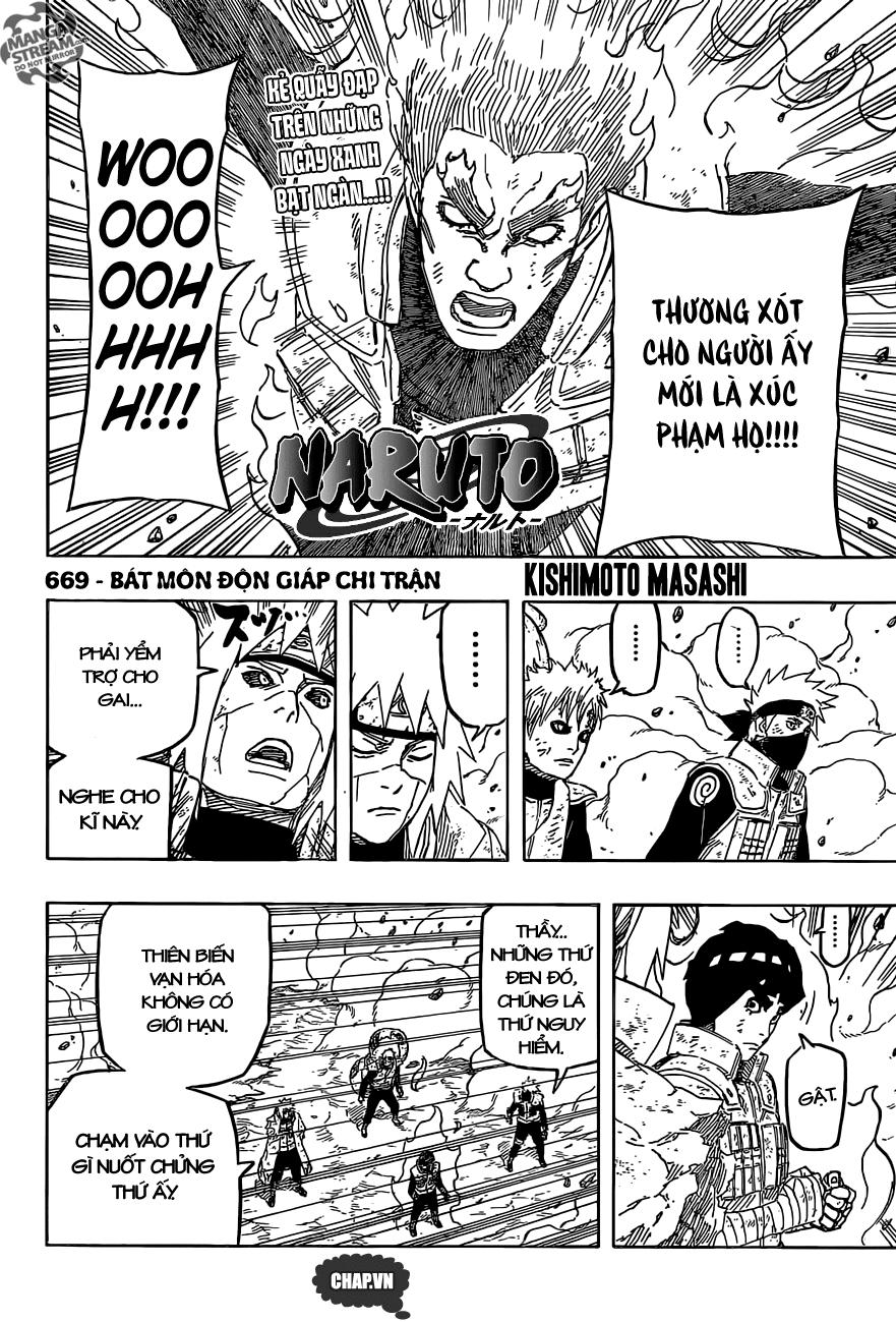 Naruto chap 669 Trang 6