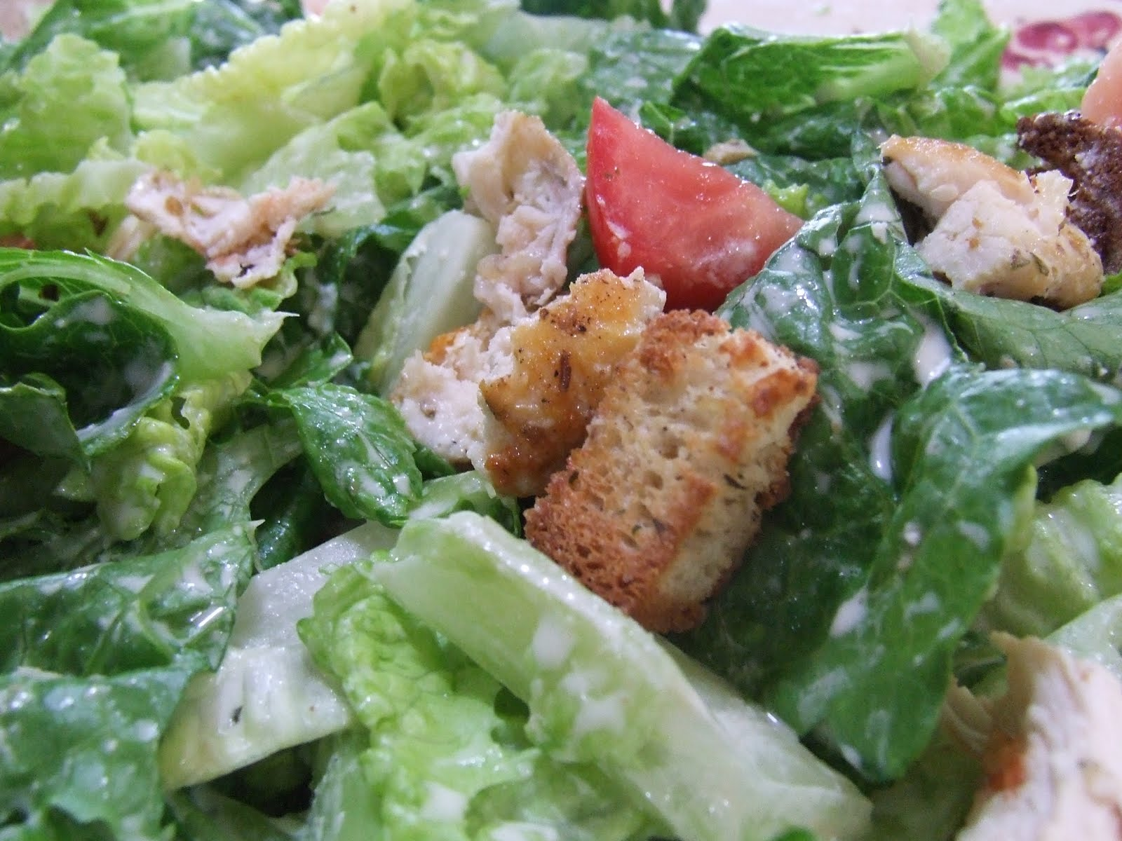 Easy Grilled Chicken Caesar Salad