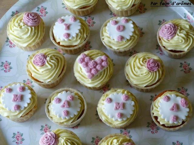 Cupcake à la violette { Fête des mères }