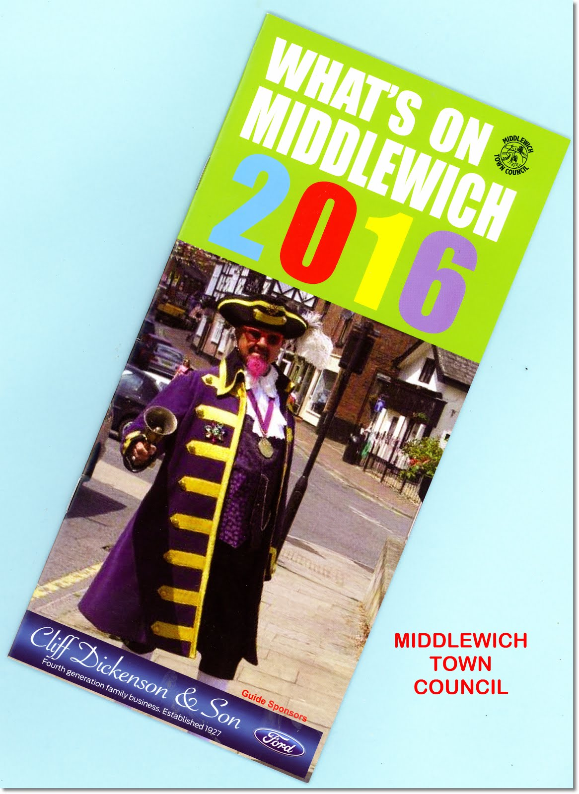 WHAT'S ON IN MIDDLEWICH THIS YEAR?