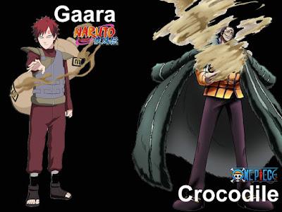 Gaara x Crocodile
