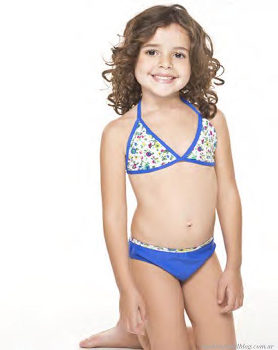 primavera verano 2014 ailyke trajes de baño para niñas