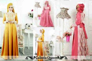 Calissta Queen Maxi Dress