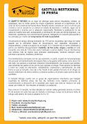 Conoce mas sobre El Campito Refugio. Publicado por Sapos de Otro Pozo en . gacetilla institucional