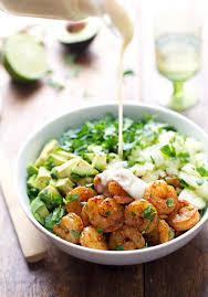 Resep dan Cara Pembuatan Shrimp Avocado Cream Salad