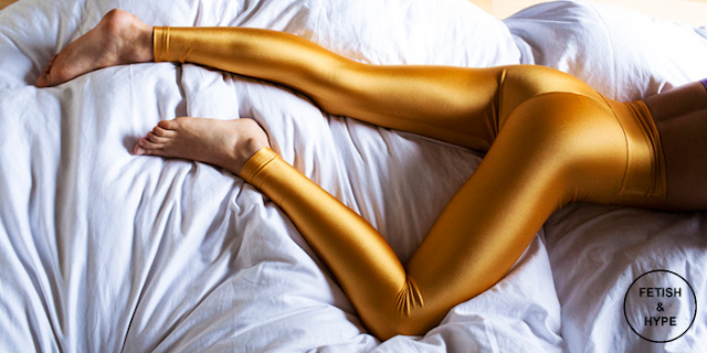 Fetish Stockings : American Apparel : Golg Leggings