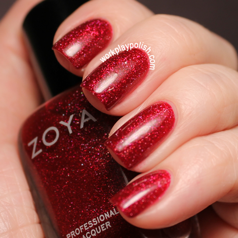 Zoya 2012 Ornate Collection Blaze (work / play / polish)