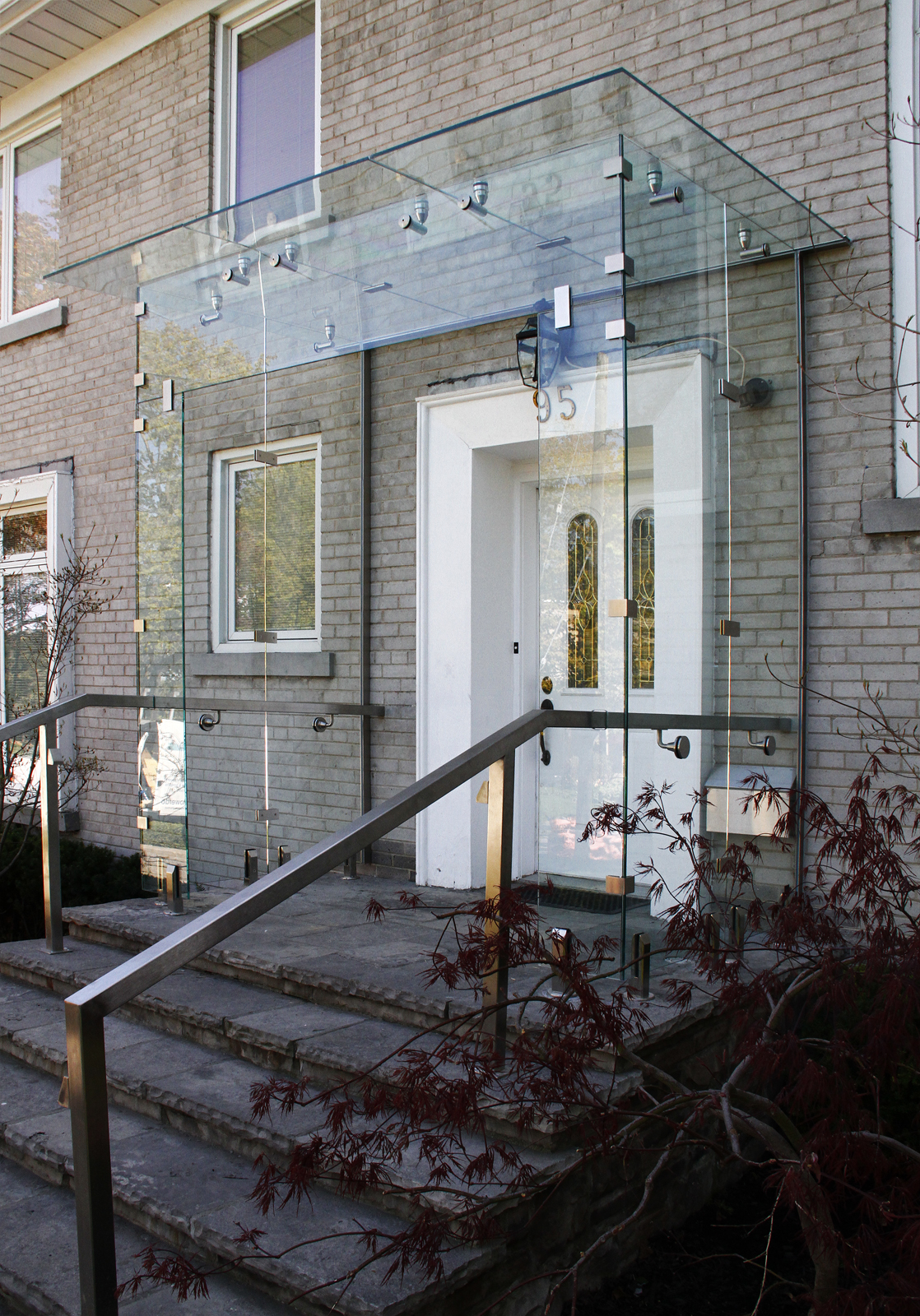 Front Entrance Glass Vestibule Shower Doors New York