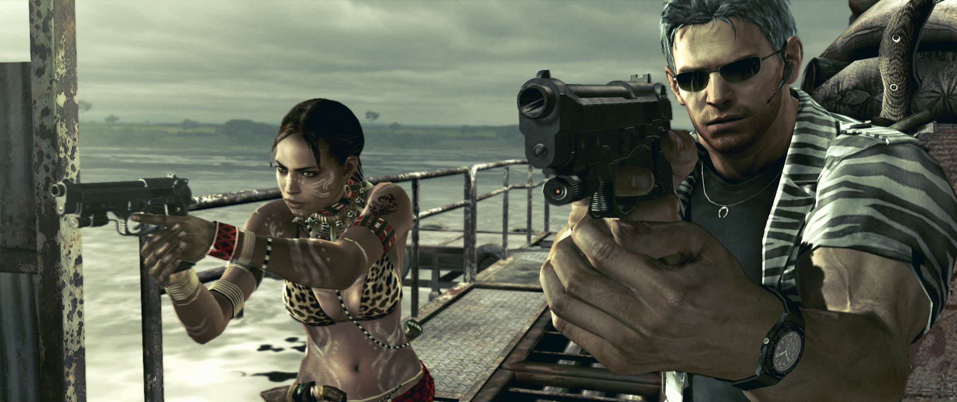 Super Adventures in Gaming: Resident Evil 5 (PC) - Part 2