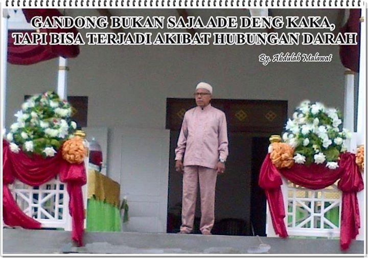 Mantan Ketua Majelis Latupati Maluku (Ir. H.A. Malawat)