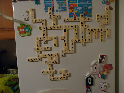 Bananagrams Blogger Challenge - Christmas
