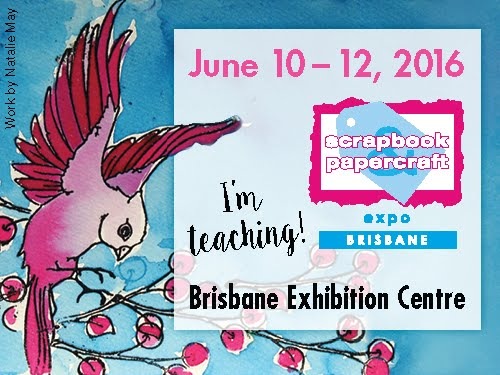 Scrapbook and Papercraft Expo 2016