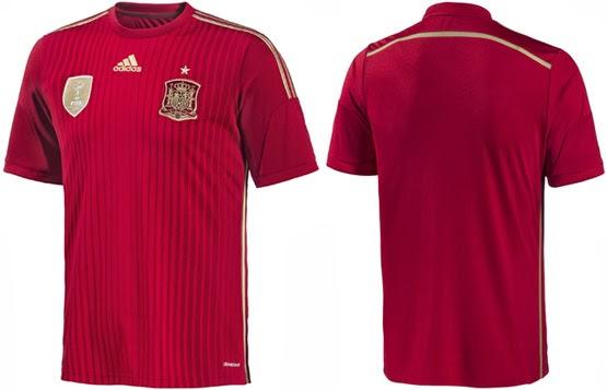 camiseta Selección española de fútbol mundial 2014 La Roja o ninguna