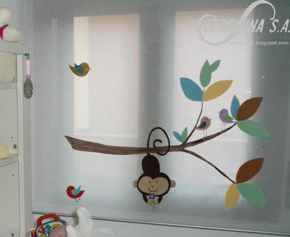 cortinas de bao hechas a manocortina infantil ms tebeo cortinas de bao hechas a mano