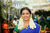 Sri Divya cute in half saree-thumbnail-3