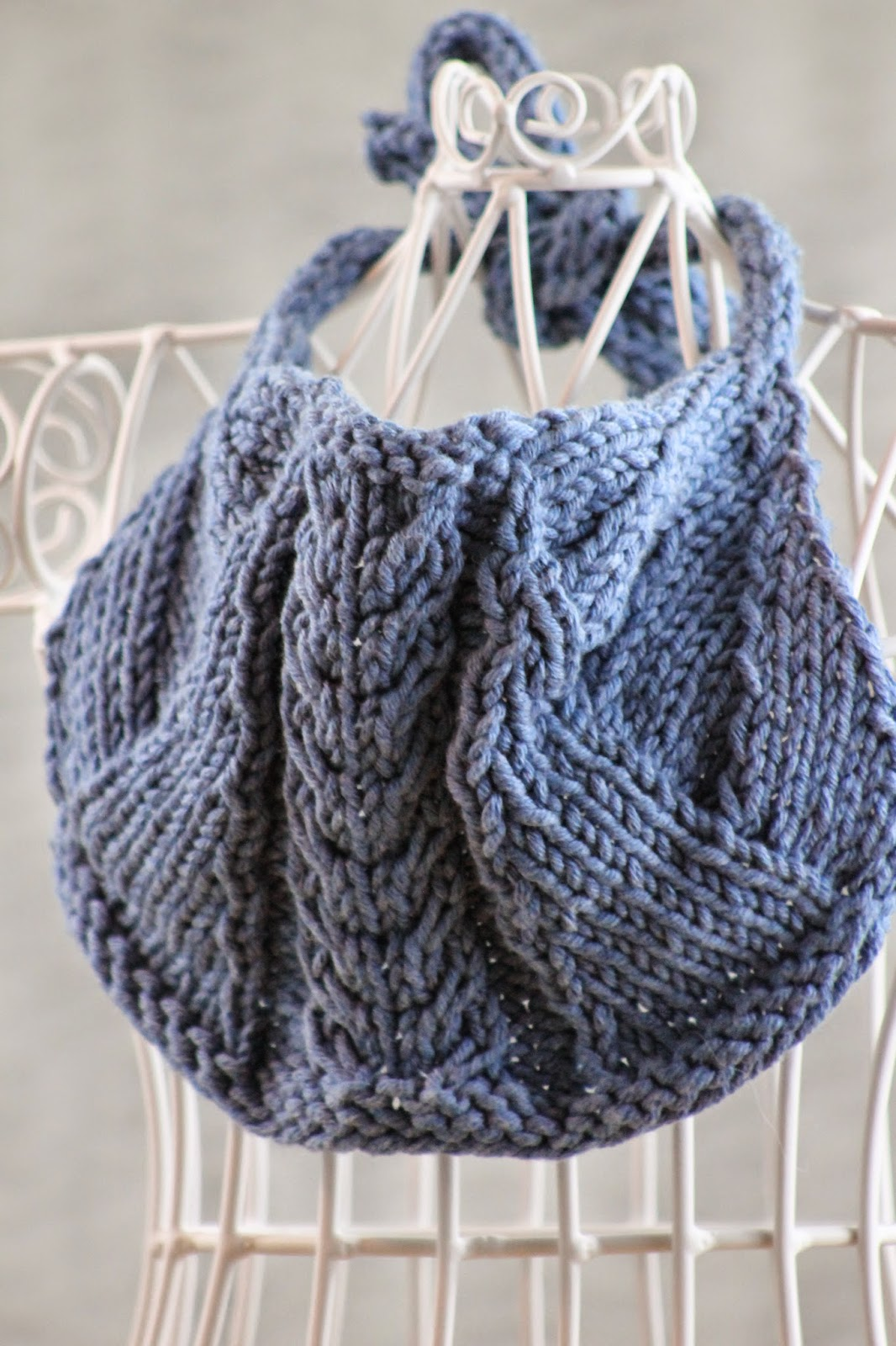 Balls to the Walls Knits: Cute & Cabled Baby Bib