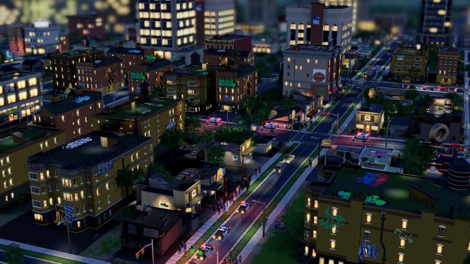 Фото 1 игра SimCity-5